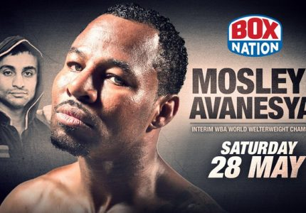 Shane Mosley-David Avanesyan live on BoxNation