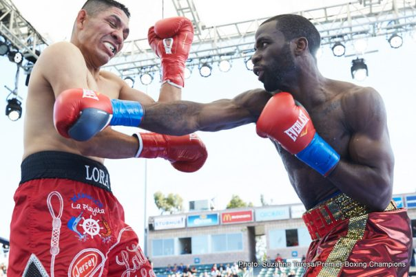 Andre Berto Victor Ortiz Boxing News Boxing Results