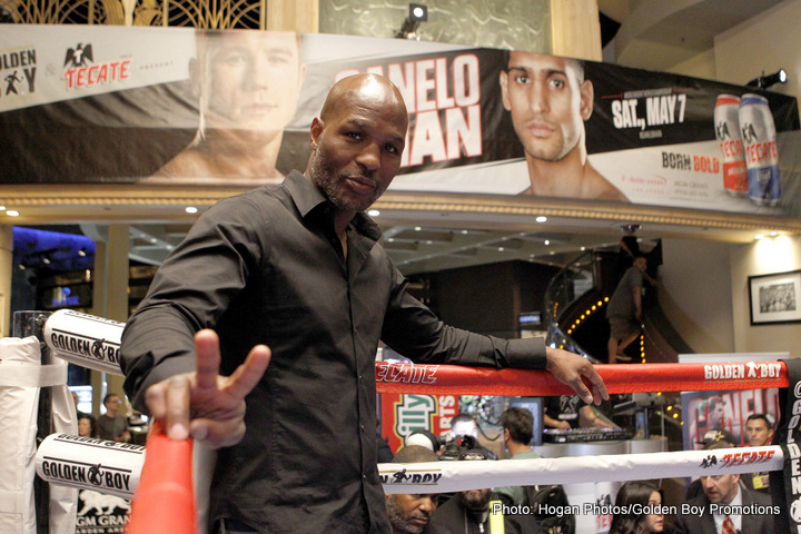 """Bernard Hopkins, Joe Smith Jr. -  A boxing legend will look to add an exclamation point to end his professional career with the same style, speed and slickness that has defined him in the ring for nearly three decades, as 51-year-old, two-division former world champion and Future Hall of Hamer Bernard """"The Executioner"""" Hopkins (55-7-2, 32 KOs) prepares to square off against hard-hitting Light Heavyweight contender Joe Smith, Jr. (21-1, 18 KOs) in a 12-round fight from Los Angeles' iconic Fabulous Forum. The bout will take place Saturday, December 17 and will be televised live on HBO World Championship Boxing®."""