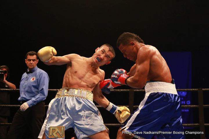 Jesus De Angel Kanat Islam Boxing News Boxing Results