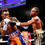 """Jermell Charlo - Verona, New York-- In a career defining performance, former WBO Junior Middleweight Champion Demetrius """"Boo Boo"""" Andrade (23-0, 16KOs) remains undefeated with a 12th round TKO over top 10 rated contender Willie Nelson (25-3-1, 15KOs) in the WBC Super Welterweight Title Eliminator on Saturday night at Turning Stone Casino.  An electrified crowd and national television audience on SHOWTIME CHAMPIONSHIP BOXING® watched the dazzling display"""