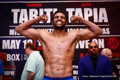 "Andrew ""The Beast""Tabiti Keith Tapia Boxing News"