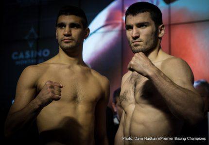 Photos: Artur Beterbiev 174.2 vs. Ezequiel Osvaldo Maderna 177.2