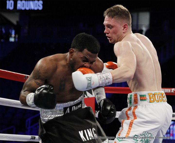 """Gennady Golovkin, Jason Quigley, Saul """"Canelo"""" Alvarez - Unbeaten Irish prospect Jason Quigley made a big step towards becoming a contender with his last win, a May 7 points victory over the experienced James De La Rosa, and now the former amateur standout has a, the sky's the limit attitude. Quigley may be just 11-0 as a pro, but he says in an interview with The Irish News that he already has superstars such as Gennady Golovkin and Saul Alvarez on his radar."""