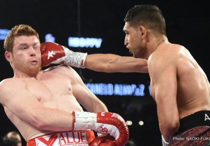 "Khan says Garcia is ""trying to run from me,"" wants revenge rematch before Brook clash"