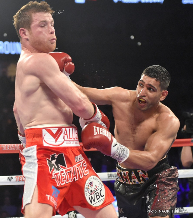Amir Khan, Jeff Horn - Boxing News
