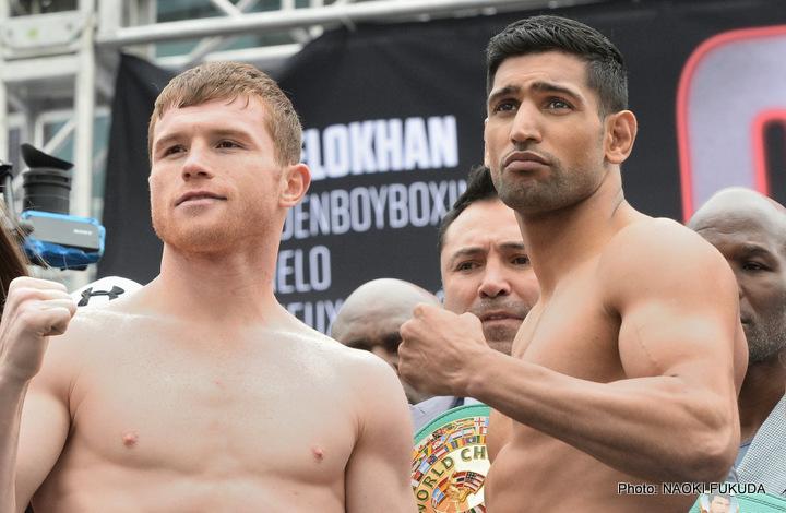 "Amir Khan, Saul ""Canelo"" Alvarez - Boxing News"