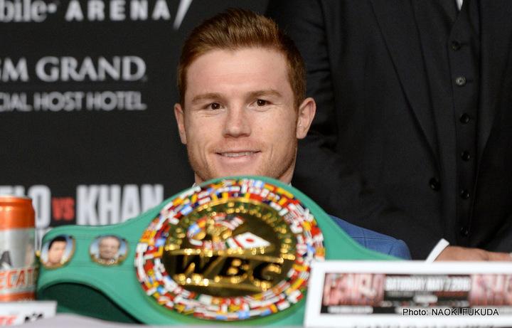 "Saul ""Canelo"" Alvarez - Boxing News"