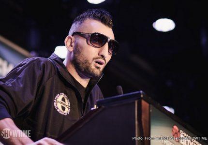Don King Inks Vanes  Martirosyan