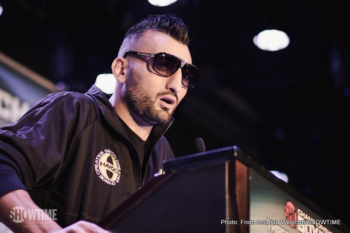 Vanes Martirosyan Boxing News