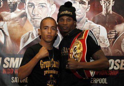 Zolani Tete battles Victor Ruiz on 6/4
