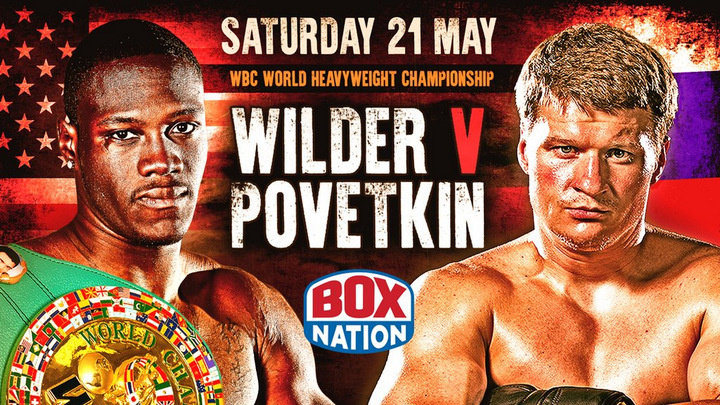 Deontay Wilder - MAY 15, 2016 - In the wake of the news on Friday that Alexander Povetkin tested positive for the banned substance meldonium, WBC Heavyweight Champion Deontay Wilder and his representatives have been made aware of the WBC's decision on Sunday that the fight will not occur in Moscow on May 21.