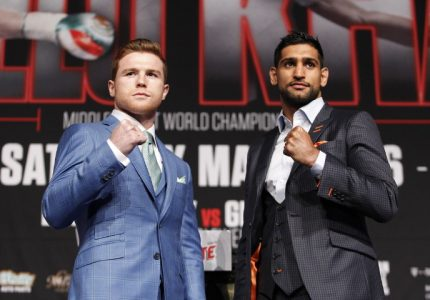 Canelo-Khan quotes for Saturday's fight