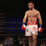 """Jordan Shimmell - (Photo credit: Andy Samuelson/Premier Boxing Champions) CARLTON, MN. (May 18, 2016) - Unbeaten cruiserweight contender Murat """"Iron"""" Gassiev (23-0, 17 KOs) scored a sensational knockout victory over Jordan Shimmell (20-2, 16 KOs) in the main event of Premier Boxing Champions TOE-TO-TOE TUESDAYS on FS1 and BOXEO DE CAMPEONES on FOX Deportes Tuesday night from Black Bear Casino Resort in Carlton, MN in the Otter Creek Event Center."""