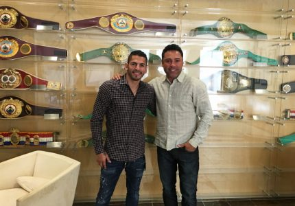 Jorge Linares re-inks with Golden Boy Promotions