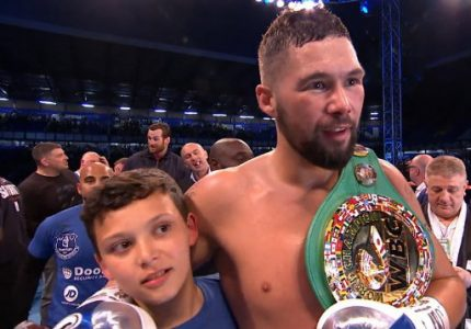 "Tony Bellew will defend WBC cruiser belt against winner of Huck-Breidis; given ""special exemption"" on mandatory"