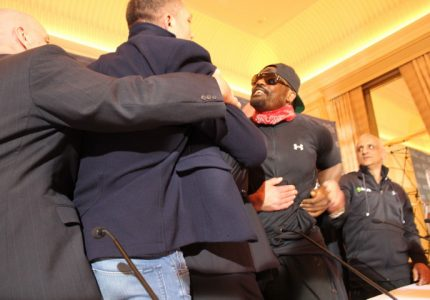 Has Dereck Chisora muscled his way into another big fight?