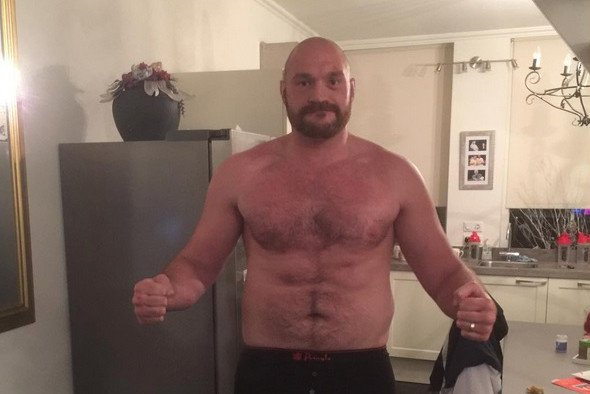 Tyson Fury Boxing News