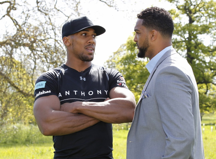 Dominic Breazeale - (Credit: Matchroom Sport) LONDON (May 4, 2016) – Undefeated IBF Heavyweight World Champion Anthony Joshua and unbeaten American challenger Dominic Breazeale had an intense face-to-face meeting on Wednesday before a contingent of major sports media outlets in London to formally announce their June 25 showdown. The two were joined by SHOWTIME Sports Executive Vice President & General Manager Stephen Espinoza and Matchroom Sports President Eddie Hearn, as the executives announced Joshua's new exclusive U.S. television deal.  All four participants later took part on a teleconference with U.S. media.