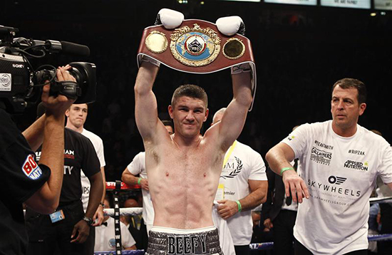 John Jackson - Liverpool's WBO Super-Welterweight World Champion Liam Smith will be keeping a very close eye on this Saturday's Super-Welterweight world title triple header in Las Vegas, aired exclusively on the Channel of Champions BoxNation.