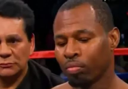 Surely the end for Sugar Shane Mosley; thanks for the great fights