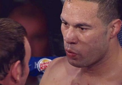 "Joseph Parker's co-promoter David Higgins says Parker ""wants to unify the titles; is willing to lose trying"""
