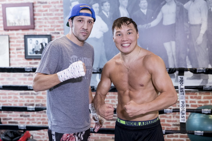 """Ruslan Provodnikov - (Photo credit: Esther Lin/SHOWTIME) LOS ANGELES (May 25, 2016) – Ruslan """"The Siberian Rocky"""" Provodnikov was involved in the Fight of the Year in 2013 with Tim Bradley. John """"The Gladiator"""" Molina Jr. was embroiled in the 2014 Fight of The Year with Lucas Matthysse."""