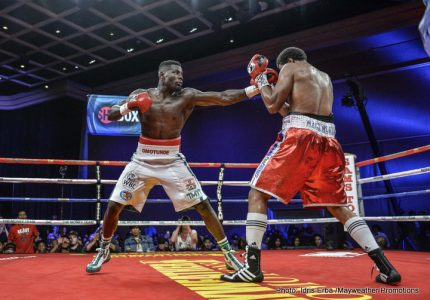 Andrew Tabiti Outpoints Tapia