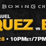 """Miguel Vazquez - SAN ANTONIO (May 19, 2016) - Former world champion Miguel """"Titere"""" Vazquez (35-5, 13 KOs) is set to take on super lightweight contender Erick Bone (16-3, 8 KOs) in the 10-round main event of Premier Boxing Champions (PBC) on FS1 and FOX Deportes from the Dancehall in San Antonio on Saturday, May 28 with televised coverage beginning at 10 p.m. ET/7 p.m. PT."""