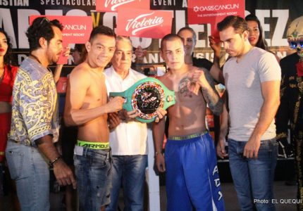 Weigh-In: Cristian Mijares 125.65 vs. Andres Gutierrez 130