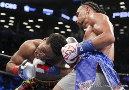 Keith Thurman-Kell Brook: who wins?