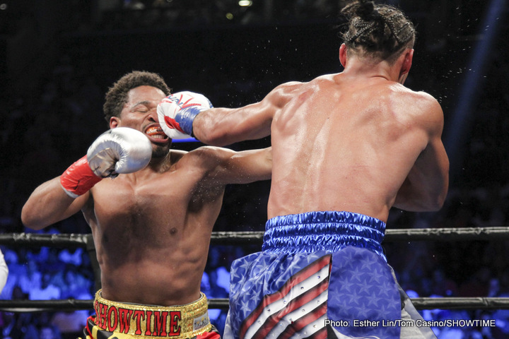 If Shawn Porter beats Andre Berto in April, we could get Thurman-Porter II