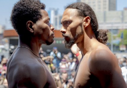 Weights: Thurman 146, Porter 147