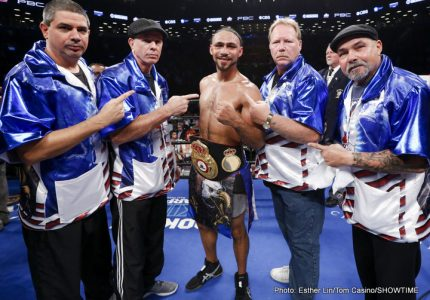 Kudos to Keith Thurman