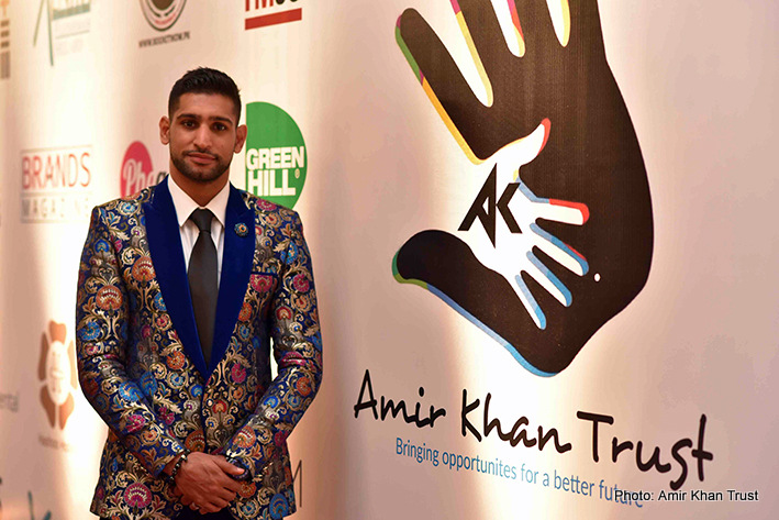 Amir Khan -  Inaugural Event Featuring British & Irish Boxers Raises 8 Million PKR For Charity.