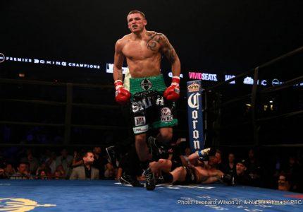 Smith Jr. destroys Fonfara; Lubin defeats Sandoval; Warren beats Payano