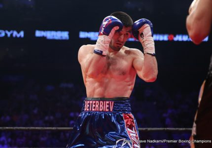 Artur Beterbiev vs. Isidro Prieto on December 23