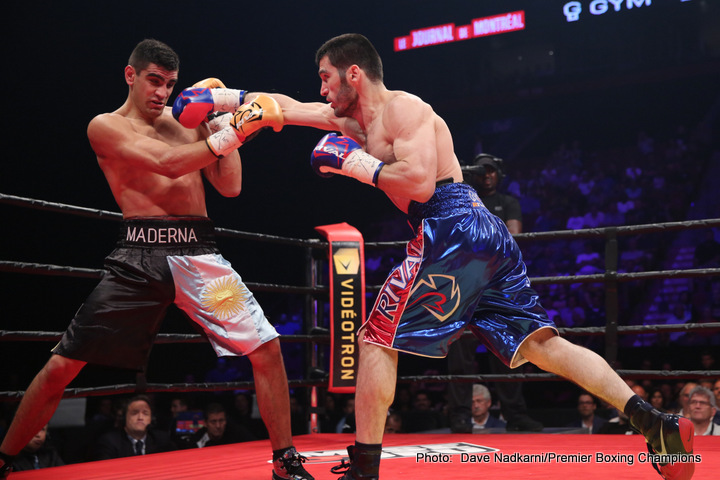 Artur Beterbiev - Unbeaten light-heavyweight banger Artur Beterbiev, one of the hardest punchers fighting today, will fight a couple of days before Christmas Day, when he will meet never-stopped Isidro Ranoni Prieto of Paraguay (now based in Argentina) in his adopted Quebec, Canada on December 23. In line to fight the winner of the November clash between Sergey Kovalev and Andre Ward, the 10-0(10) Beterbiev will be having just his second fight of this year.