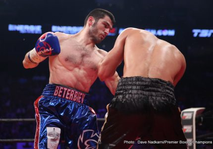 Artur Beterbiev-Sullivan Barrera IBF light-heavyweight final eliminator set for Miami, April 21