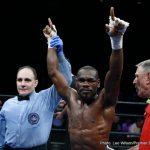 Edner Cherry -  Former title challenger Edner Cherry (35-7-2, 19 KOs) defeated contender Lydell Rhodes (23-2-1, 11 KOs) by unanimous decision (98-92, 97-93 X 2) in a 10-round super featherweight main event of Premier Boxing Champions TOE-TO-TOE TUESDAYS on FS1 and BOXEO DE CAMPEONES from Sands Bethlehem Events Center in Bethlehem, Pa.