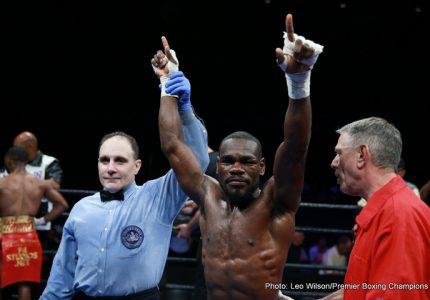 Edner Cherry defeats Lydell Rhodes