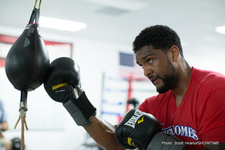 Anthony Joshua Dominic Breazeale Boxing News British Boxing
