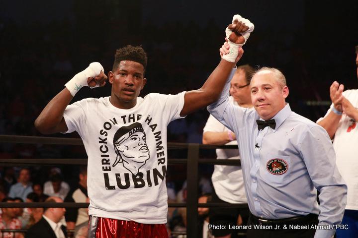 Chris Arreola Deontay Wilder Erickson Lubin Ivan Montero Boxing News
