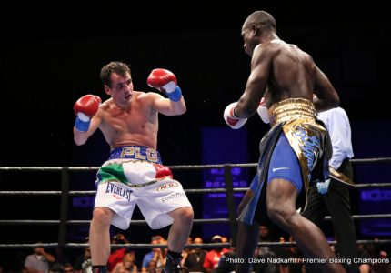 Joseph Elegele defeats Phil Lo Greco