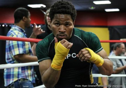 Shawn Porter Las Vegas Media Workout Quotes