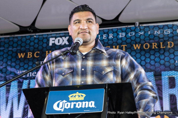 Chris Arreola Deontay Wilder Boxing News