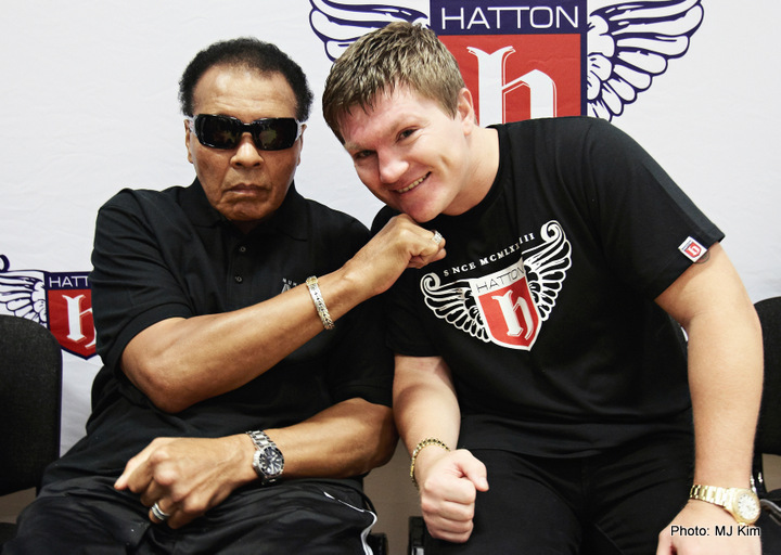 Muhammad Ali on Fundraising Tour in UK
