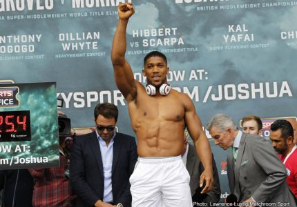 Rumble in The Jungle II? Joshua could fight in Africa says Hearn