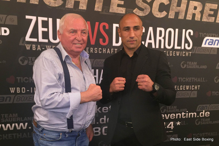 Arthur Abraham Tim-Robin Lihaug Boxing News