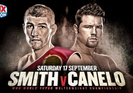 Liam Smith – Saul Alvarez on September 17th